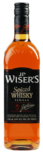 Wiser's Canadian Whisky Spiced Vanilla 1.00l